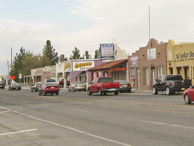 Main Street In Anthony