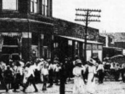 Main  Street In  Booneville