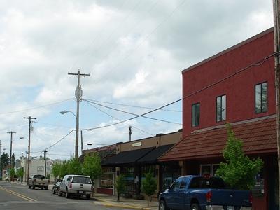 Main Street In Carlton