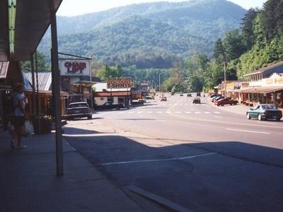 Main Street Of Cherokee.