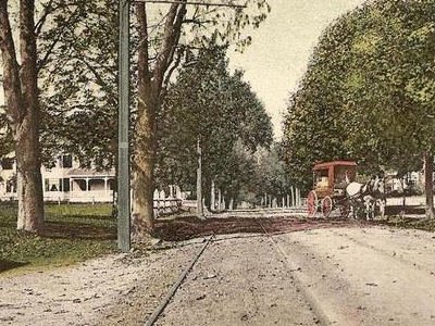 Main  Street Foxborough