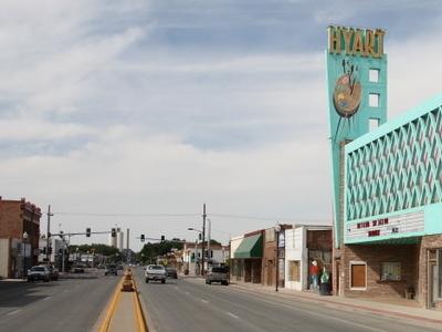 Main Street Lovell WY
