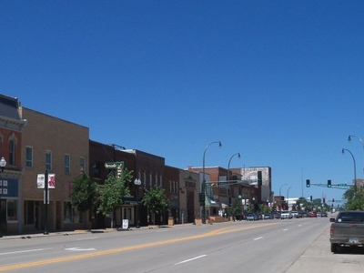 Main Street In Downtown Marshall