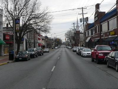 Main Street Is The Commercial Heart Of Newark.