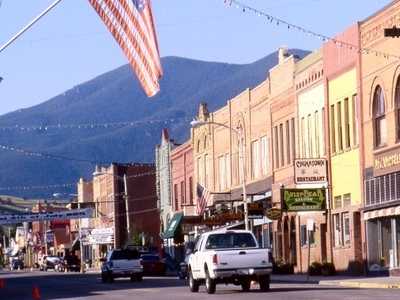 Main Street In Red Lodge