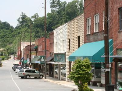 Main Street Spruce Pine Nc