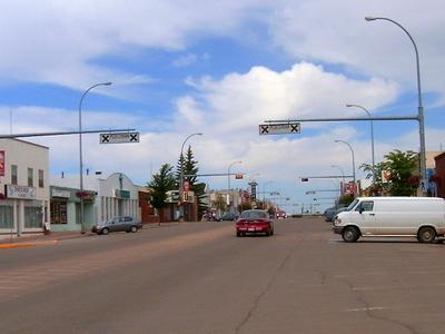 Main Street Stettler