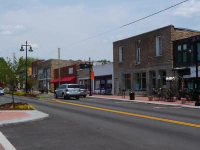 Main Street In Stone Mountain Village