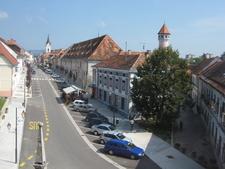 Main Street In Brezice