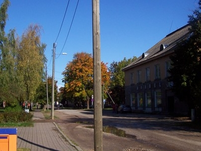 Main Street Of Kallaste