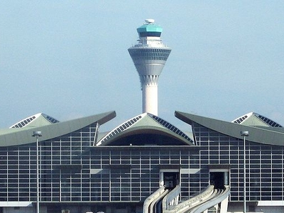 Main Terminal Building And Tower At KLIA