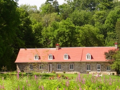 Maison Rouge (Red House)in Chateau-Richer