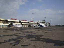O Aeroporto Internacional de Malabo