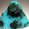 Malachite Quartz Chrysocolla Specimen From The Bagdad Mine