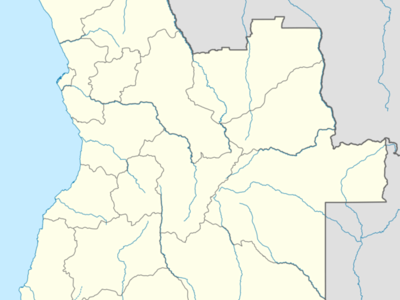 Malanje Is Located In Angola