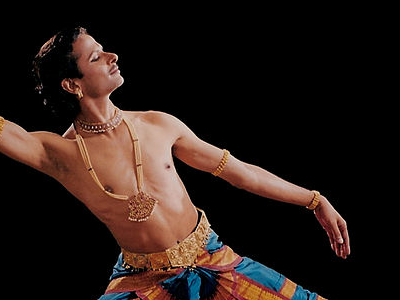 Male Bharata Natyam Performer