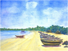 Malvan-Beach Painting