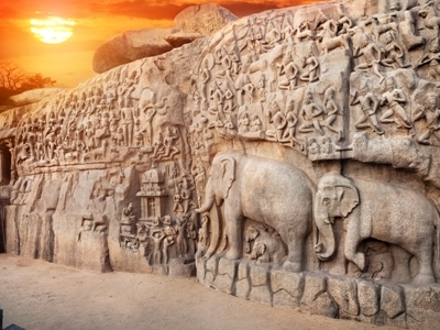 Mamallapuram - Rock Cut Sculptures
