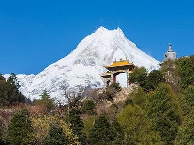 Manaslu Circuit Trek View - Nepal Himalayas