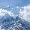 Manaslu Himalayan Landscape In Nepal