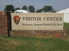 Manassas Battlefield Sign