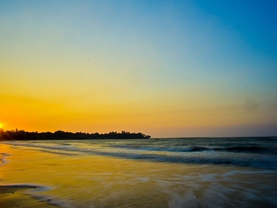 Mandwa Beach Sunset