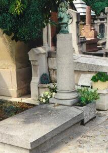 Grave Of Édouard Manet