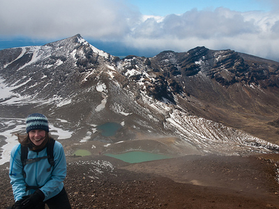 Mangatepopo Hut To Emerald Lakes Track - Tongariro National Park - New Zealand