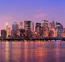 Manhattan Across Hudson River NY