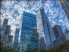 Manhattan From Bryant Park