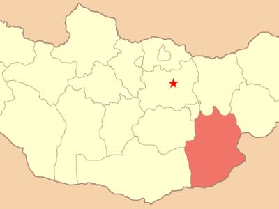Map Mn Dornogobi Aimag