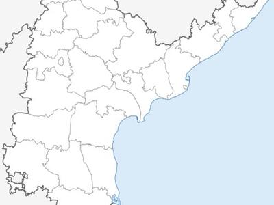 Map Of Andhra Pradeshshowing Location Of Siddipe