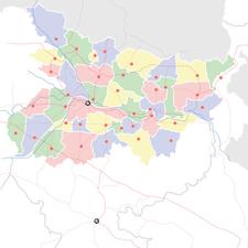 Map Of Biharshowing Location Of Lakhisarai