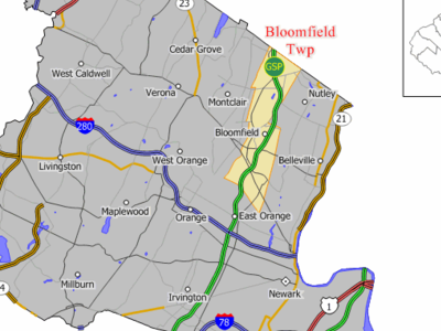 Map Of Bloomfield