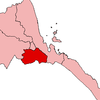 Map Of Eritrea With The Debub Region Highlighted