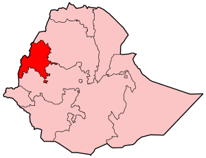 Map Of Ethiopia Showing Benishangul Gumuz Region