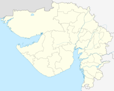 Map Of Gujaratshowing Location Of Dahegam