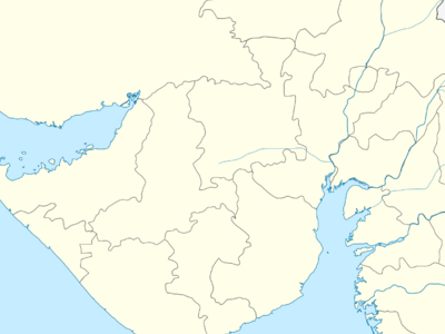 Map Of Gujaratshowing Location Of Halol