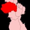 Map Of Guyana Showing Cuyuni Mazaruni Region