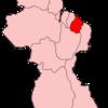 Map Of Guyana Showing Mahaica Berbice Region