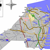 Map Of Holmdel Township In Monmouth County. Insetlocation Of Mon