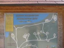 Map Of Illipah Reservoir Camp Sites
