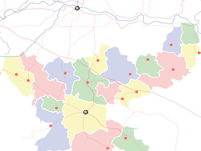 Map Of Jharkhand Showing Location Of Lohardaga