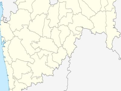 Map Of Maharashtra Showing Location Of Ambajogai