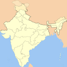 Map Of Maharashtrashowing Location Of Osmanabad