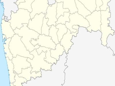 Map Of Maharashtrashowing Location Of Raver