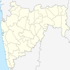 Map Of Maharashtrashowing Location Of Telhara