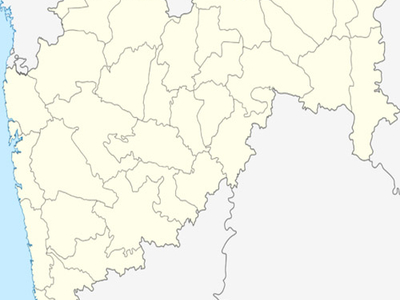 Map Of Maharashtrashowing Location Of Tumsar