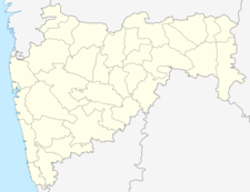 Map Of Maharashtrashowing Location Of Pusad
