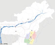 Map Of Manipurshowing Location Of New Lamka
